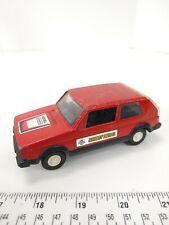 VTG Tootsietoy Volkswagen Rabbit Diesel Vintage Toy Car Die Cast Red w/ Decals