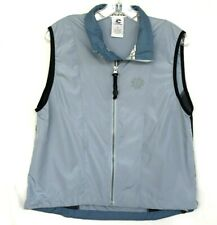 CANNONDALE Cycling Vest Womens M Blue Gray Mesh Sides