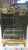 Hot Wheels 50Th Anniversary Black & Gold Bone '65 Ford Ranchero (CP04)