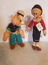 VINTAGE  Popeye and Olive Oyl. Presents 1985
