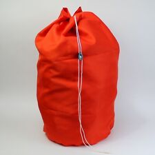 Large Heavy Duty Commercial Laundry Bag / Hamper. Handle & Drawstring Closure.