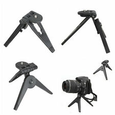2 In 1 Mini Folding Tripod Stand Portable Hand Grip For Camera Phone Use bz3