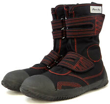 Power Ace Steel Toe Cap Safety Boots - Stylish Canvas material