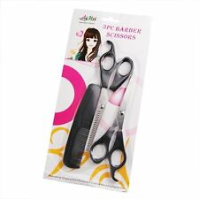 3pc Hair Cutting & Thinning Scissors Shears Hairdressing Set Comb Thinner Stylin