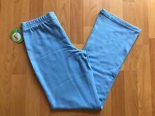 Nwt Circo Girls Size L 10/12 Blue Cotton Knit Lounge Athletic Yoga Pants