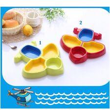 Lovely Aeroplane shape Plate Dinnerware/Fruit or Snack Plate For Kids