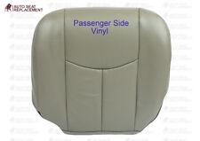 2003 2004 2005 06 Chevy Tahoe Suburban-Passenger Bottom Seat Cover Gray (Pewter)