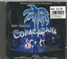 CD COMEDIE MUSICALE BROADWAY 19 TITRES--COPACABANA--BARRY MANILOW'S