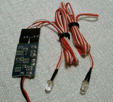 Fast Flashing Two Way Red LED Light Controller for RC Airplanes/Jets