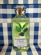 Bath and Body works blackberry black berry and basil shower gel  shea vitamin e