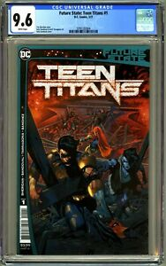 FUTURE STATE TEEN TITANS #1 - CGC 9.6 NM+ 1ST RED X IN DC CONTINUITY