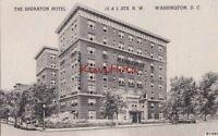 Postcard The Sheraton Hotel Washington DC