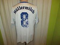 "FC Schalke 04 Adidas Auswärts Matchworn Trikot 1991/92 ""Ráctiv"" + Nr.8 Gr.M- L"