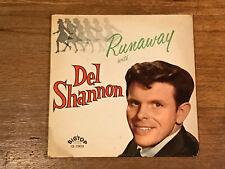 Del Shannon LP - Runaway - Big Top Records 12-1303 1961 Mono