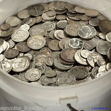 U.S.A. ALL PRE 1965 SCRAP 90% SILVER BLOWOUT SALE $5 FACE LOTS!  ✯✯ FREE S&H ✯✯
