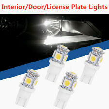 4 X White T10 5-SMD 5050 LED Wedge Light Lamp Bulbs 2886X PC579 194 2825 HID