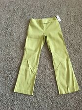 NWT Nine & Comp Stretch Pants Straight Leg Color Green Size 10