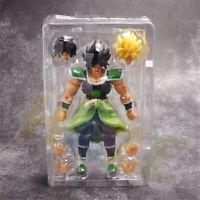 Dragon Ball Z Super Saiyan Broly Super PVC Figure Toy 20cm New