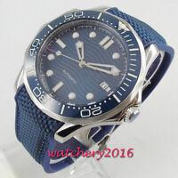 41mm BLIGER sterile Dial Datum Leuchtzeiger Saphirglas Automatisch men's Watch
