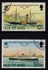 Isle of Man 1982 Mailboats SG 223-4 CTO/FU