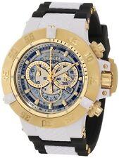 invicta Men's 0928 Subaqua Quartz Chronograph White, Transparent Dial Watch