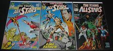 The Young All-Stars 9, 10 & 22 (1987-1989 DC) 1st Print (3) comic lot