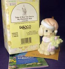 Precious Moments TAKE A BOW YOU'RE MY CHRISTMAS STAR Ornament 520470 1994 + Box