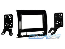 TACOMA DOUBLE 2 DIN CAR STEREO RADIO CD PLAYER DASH INSTALLATION TRIM BEZEL KIT