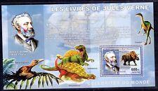 Congo 2006 MNH SS, Jules Verne, science fiction, Prehistoric Animals Dinosaur ()