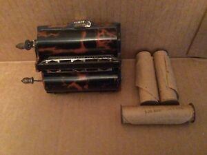 ROLMONICA Bakelite Musical Instrument Harmonica .. 4 Rolls!