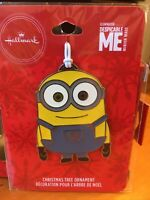 Hallmark 2019 Metal Ornament DESPICABLE ME BOB New Sealed Minions Universal