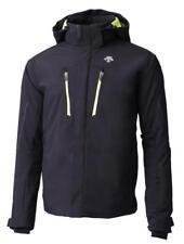 Descente Glade Ski Jacket - Men's - Large, Black/Lime (9341)