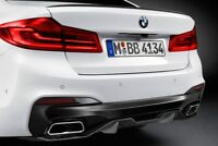 PAINTED GLOSS BLACK BMW 5 SERIES G30 F90 M5 STYLE OME FIT REAR BOOT SPOILER LIP