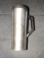 Starbucks Silver Vacuum Stainless Steel Tumbler Clip Handle 16 OZ Travel Thermos