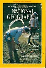 NATIONAL GEOGRAPHIC MAGAZINE OCTOBER 1984 - Cortes  Duoro River  Pollen  Maoris