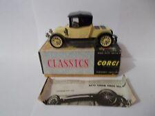corgi 9032 renault 1910 boxed vintage 1965