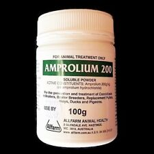 AMPROLIUM 200 100g COCCIDIOSTAT AUSTRALIAN MADE (Hens CHOOKS Chickens Poultry)