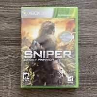 Sniper: Ghost Warrior (Microsoft Xbox 360, 2010) GAME NEW FACTORY SEALED