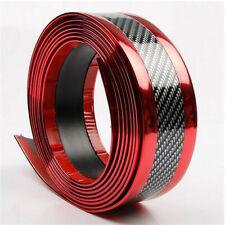 Parts Accessories 3D Carbon Fiber Vinyl Stickers Car Door Sill Protector Cover