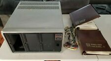 RADIO SHACK TRS-80 MODEL II DISK SYSTEM DRIVE EMPTY & Manuals