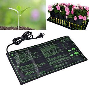 25 X 50cm Heizmatte Terrarium Tiere Heizung Pflanzen Anzucht Wärme Matte 17.5W