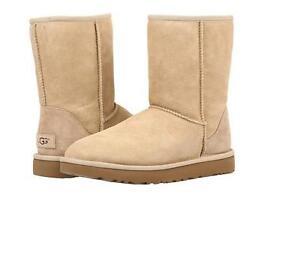 New Women's Shoes UGG Classic Short II Boots 1016223 Sand SZ 5-11 *NIB*