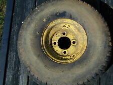 #67 John Deere Quik Trac Riding Lawn Mower Rear Tire Wheel - 20 x 8.00 - 8