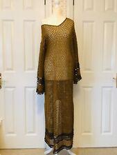 Zara Crochet Dress Size M