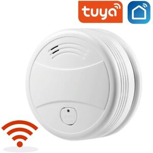 WiFi Smoke Alarm Fire Detector Sensor Life Protection Smart Home Security System