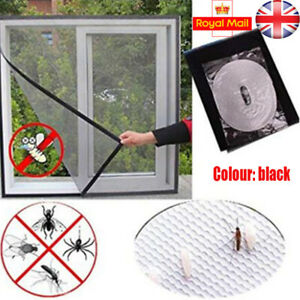 Large Magnetic Window Insect Screen Mesh Net Fly Mosquito Bug Netting Moth Cover