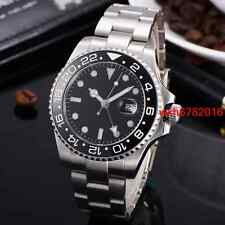 43mm sapphire glass Sterile Dial GMT Mechanical Automatic mens Wristwatch 552