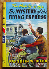 The Hardy Boys THE MYSTERY OF THE FLYING EXPRESS Franklin W Dixon 1941 HBDJ L2