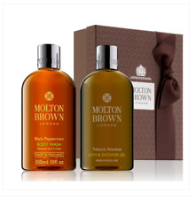 Molton Brown Black Peppercorn & Tobacco Absolute Shower Gel Gift Set