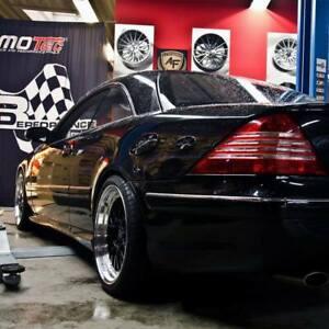 19 Zoll 8,5 + 9,5 Le mans für Mercedes C W203 CLC W211 CLK W208 W209 SLK CLS AMG